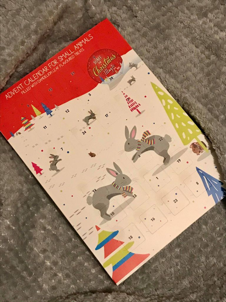 hamster advent calendar