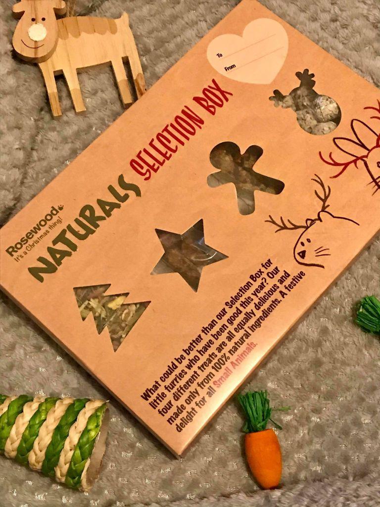 hamster Christmas selection box