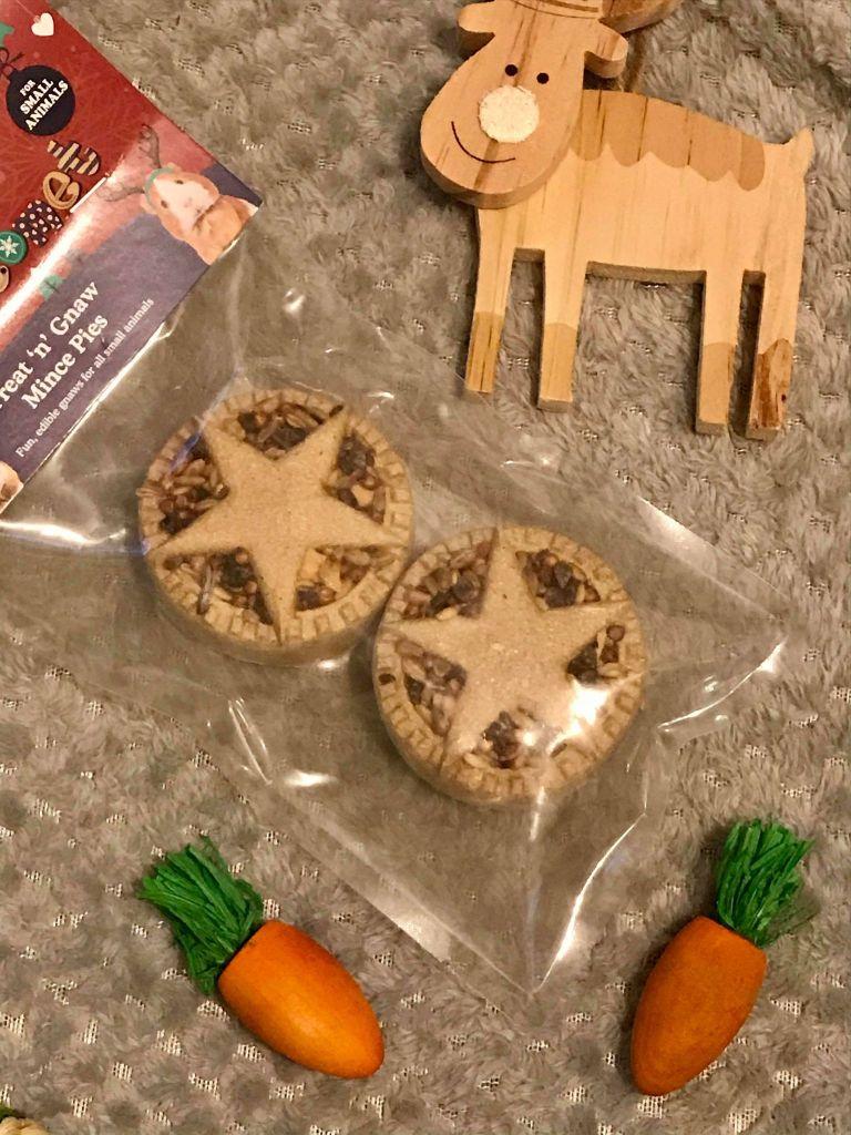 hamster mince pie treats