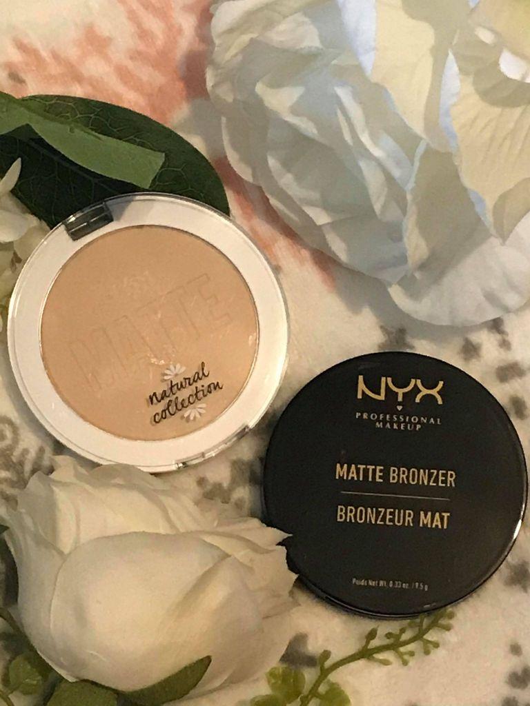 natural collection matter powder, nyx matter bronzer