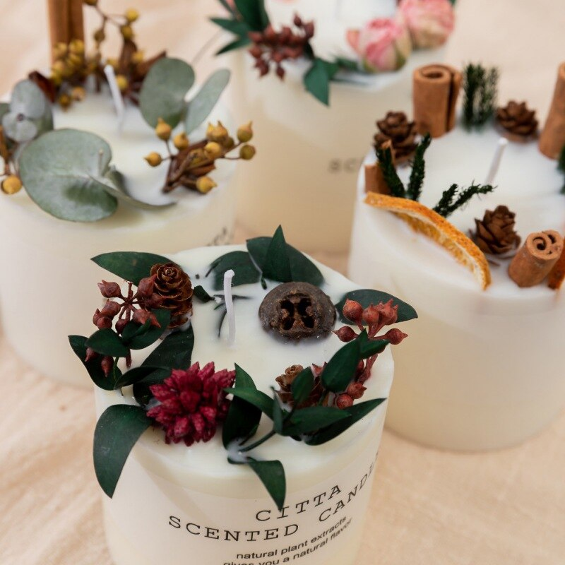 aromatherapy Christmas candles