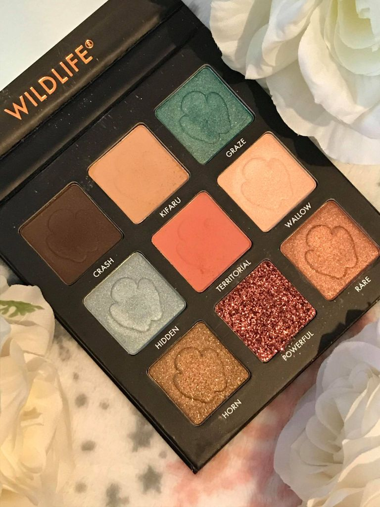 barry m wildlife palette